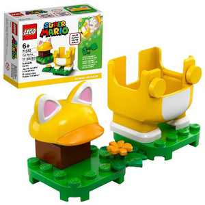 LEGO Super Mario Cat Mario Power-Up Pack Building Kit Collectible Gift Toy for Creative Kids 71372