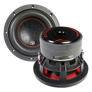 Audiopipe TXXBDC46 6.5 in. Quad Stacked Magnet & 250 watt RMS Compsoite Cone Subwoofer