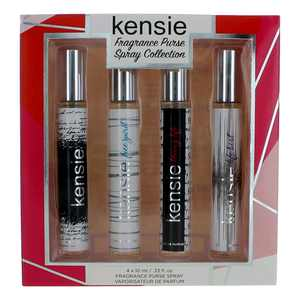 Kensie by Kensie 4 Piece Deluxe Travel Spray Collection women Purse Spray