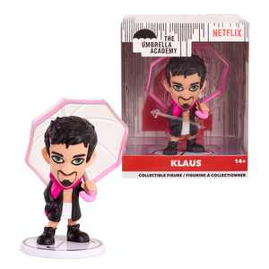 The Umbrella Academy 3.5 Stylized Collectible Figure- Klaus, Ages 1+