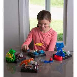HearthSong - STEM Challenge Set for Kids Indoor Play, 125 Connections