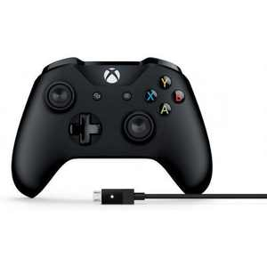 Xbox Wireless Controller and Cable for Windows - Cable for Windows included - Wireless - Bluetooth - Xbox One exclusive - 9 ft cable length