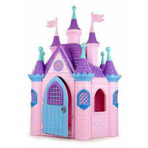 ECR4Kids Jumbo Princess Palace Playhouse Castle with Turrets and Flags, Indoor/Outdoor Play