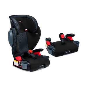 Britax Highpoint 2-Stage Belt-Positioning Cool Flow Booster Car Seat - Gray