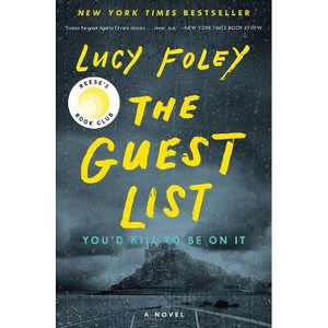 The Guest List - by Lucy Foley (Hardcover)