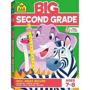 Big Second Grade Workbook - (Big Workbook) (Paperback)
