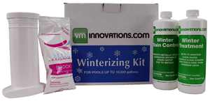 Swimming Pool Winterizing Treatment Closing Kit - Up To 10,000 Gallons (2 Pack)