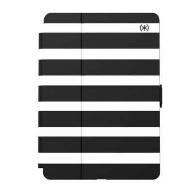Speck Balance Folio Protective Case for iPad 10.2 - Black & White