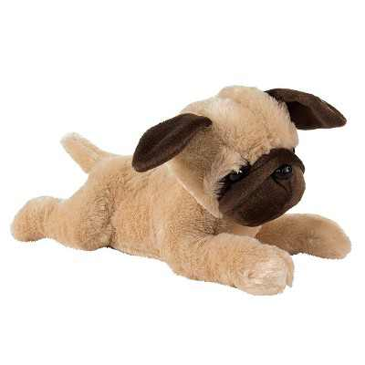 Stuffed Animal Dog Otis The Pug Plush Toy for Kids Birthday Baby Shower Gifts