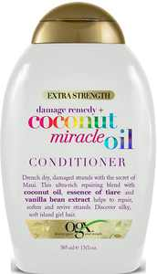 OGX Extra Strength Damage + Coconut Miracle Oil Conditioner 13 oz (Pack of 3)