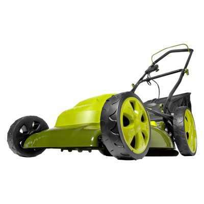 Sun Joe MJ408E Electric Lawn Mower | 20 inch | 12 Amp.