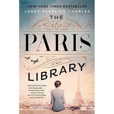 The Paris Library - by Janet Skeslien Charles (Hardcover)