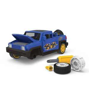 DRIVEN – Toy Car Playset with Tools – Take-Apart SUV - 34pc - Blue