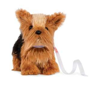 Our Generation Pet Dog Plush with Posable Legs - Yorkshire Terrier Pup