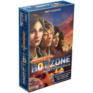 Z-Man Games Pandemic Hot Zone Board Game