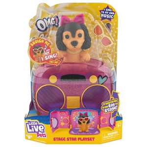 Little Live OMG Pets Have Talent - Puppy Playset