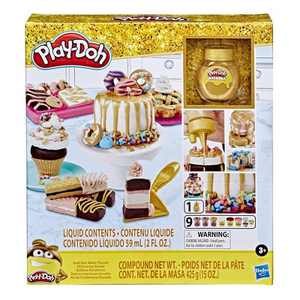 Play-Doh Gold Collection Gold Star Baker Playset