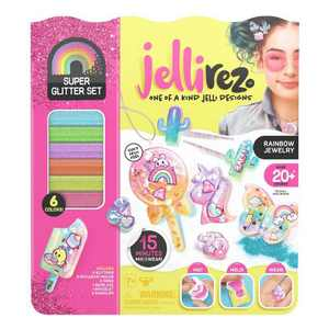 Jelli Rez Super Glitter Rainbow Pack