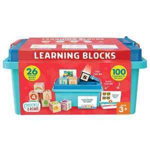 Chuckle & Roar ABC Learning Blocks Set - 76pc