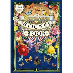 The Antiquarian Sticker Book (Hardcover)