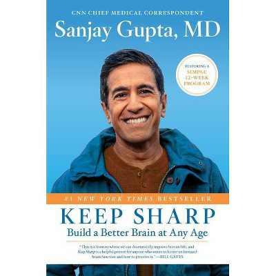 Keep Sharp - by Sanjay Gupta (Hardcover)