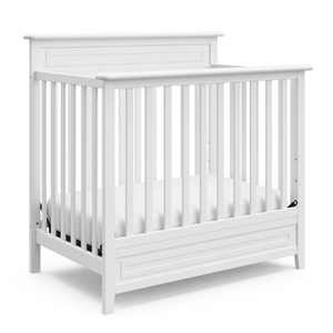 "Storkcraft Petal Convertible Mini Crib With 3"" Mattress"