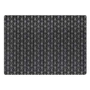 3'x4' Two-Tone Textile Mat Gray - Multy Home