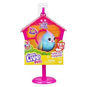 Little Live Pets Lil' Bird & Bird House - Rainbow Tweets