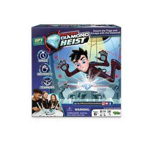 Spy Code Mission: Diamond Heist Game