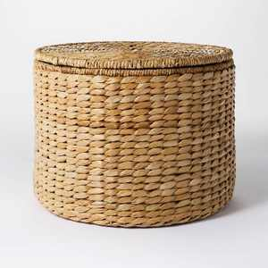 Woven Storage Ottoman Natural - Threshold™ designed with Studio McGee