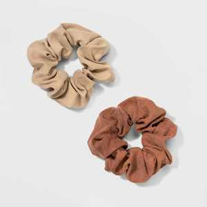 Soft Suede Fabric Twisters Hair Elastics - Universal Thread