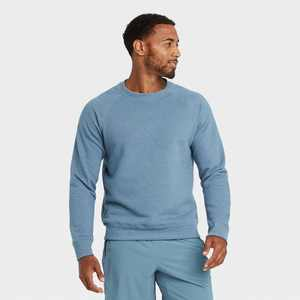 Men's Fleece Crewneck Pullover - All in Motion