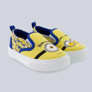 Toddler Boys' NBCUniversal Minions Dual Gore Slip-On Sneakers - Yellow