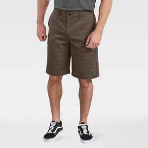 "Dickies Men's 11"" Plaid Flat Front Shorts"