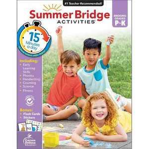 Summer Bridge Activities Grades PK–K (Paperback)