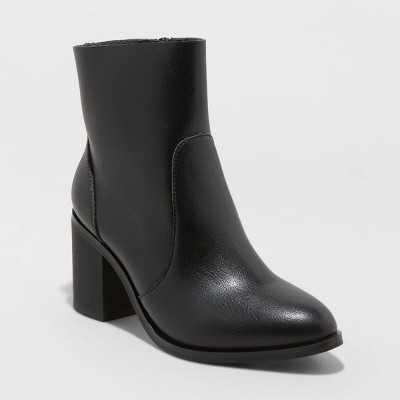Women's Cleo Heeled Ankle Bootie - Universal Thread