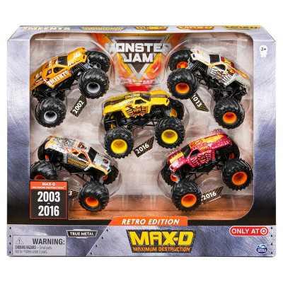 Monster Jam 1:64 Scale - 5 pk Max D