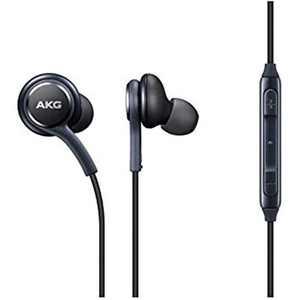 Samsung AKG EO-IG955 3.5mm Earbud Headphones with Microphone/Remote - Dark Gray - Bulk Packaging