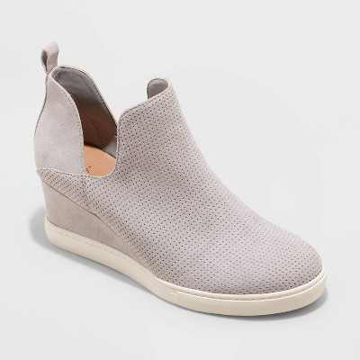 Women's Caralie Wedge Sneakers - A New Day