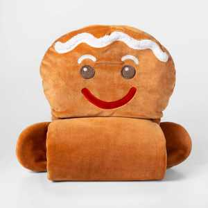 Gingerbread Man Hooded Blanket - Pillowfort™