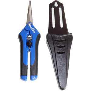 Hydrofarm HGPP400C Precision Curved Blade Flower Gardening Scissor Pruner