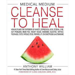 Medical Medium Cleanse To Heal - by Anthony William (Hardcover)