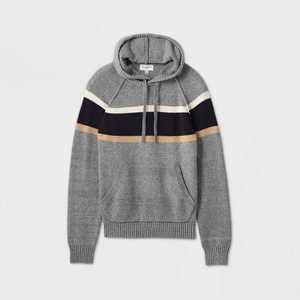 Men's Regular Fit Hooded Sweater - Goodfellow & Co