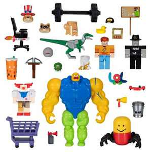Roblox Action Collection - Meme Pack Playset (Includes Exclusive Virtual Item)