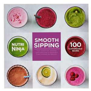 SharkNinja Smooth Sipping 100 Recipe Book for BL480 & BL490 Series IQ Blenders