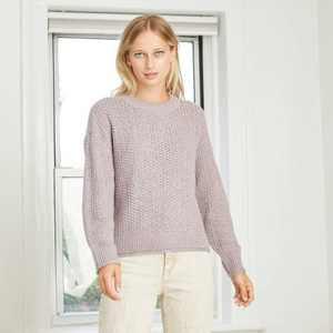 Women's Crewneck Pullover Sweater - Universal Thread