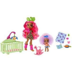 Cave Club Wild About Babysitting Playset