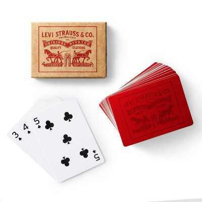 Standard Playing Card Deck in Kraft Paper Box - Levi's® x Target
