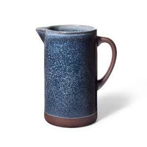 63 fl oz Tall Stoneware Pitcher Blue - Levi's® x Target