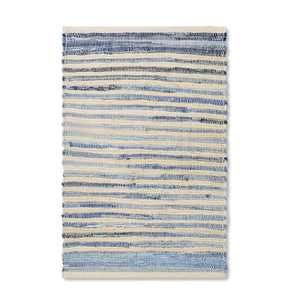2'x3' Striped Scatter Rug Neutral/Blue - Levi's® x Target